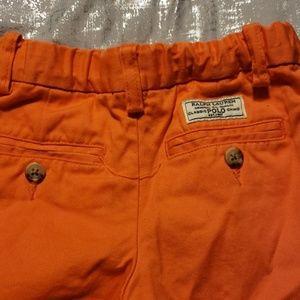 Polo by Ralph Lauren Bottoms - Orange boys Polo shorts